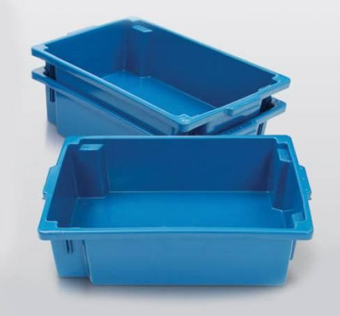 caixa plastica pescado