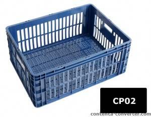 Caixa Plástica Vazada 115 litros