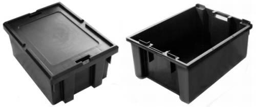 caixas de plastico 57 litros