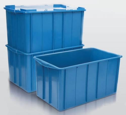 Caixa Plástica Fechada 180 litros
