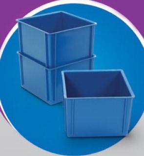 Caixa Plástica Fechada 2,5 litros