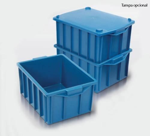 Caixa Plástica Fechada 26 litros
