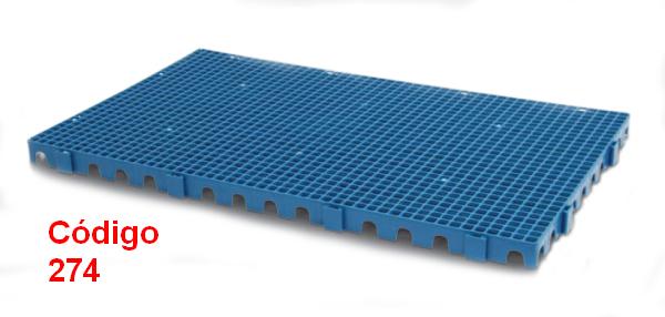 Estrado Plástico 100x60 cm