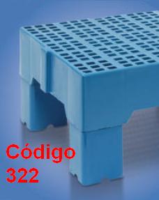 prolongador para estrado 41x82x13 cm