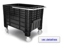 Caixa Plástica Fechada 372 Lts 1030