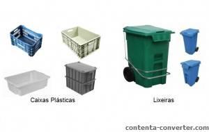 Contentor Plástico