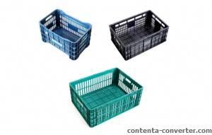 Caixa Plástica Agrícola, Direto da Fábrica