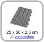 estrado plastico 25 x 50 cm