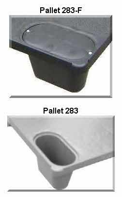 Pallet Plástico 283F