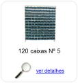 estante metalica porta componentes para 120 caixas plasticas bin numero 5