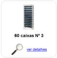estante metalica porta componentes para 60 caixas plasticas bin numero 3