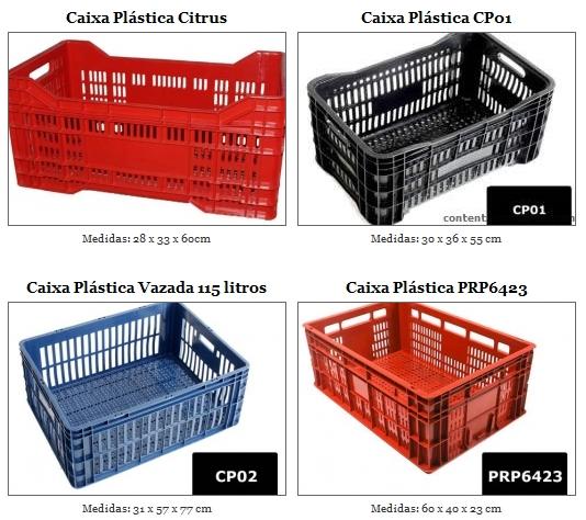 Caixa Plástica Supermercado
