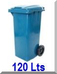contentor lixo 120 litros