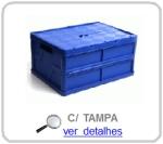 caixa dobravel com tampa
