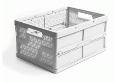 caixa dobravel fechada branca