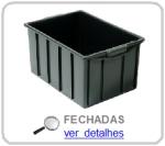 caixa plastica fechada