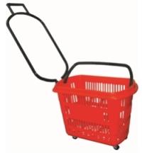 Cesto Plástico com Rodas no Raul Gil SBT