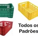 Caixas Plásticas Vazadas