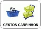 cestos e carrinhos de supermercado precos