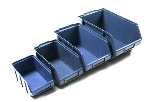 caixa bin plastico