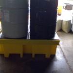 Pallet de Contenção para 4 tambores   420 litros