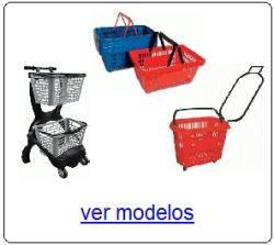cestos plasticos de compras