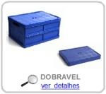 caixa plastica dobravel
