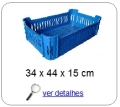 bandeja plastica 14 x 28 x 43 cm 272