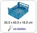 bandeja plastica 15 x 29 x 39 cm 312