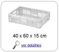 bandeja plastica 15 x 40 x 60 cm 276
