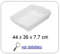 bandeja plastica 7,7 x 36,0 x 44,0 cm 060