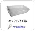 bandeja plastica 9,0 x 30,0 x 49,0 cm 315