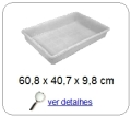 bandeja plastica 9,7 x 30,0 x 49,0 cm 269
