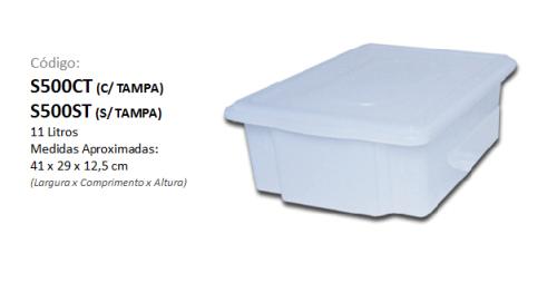 Caixa Plástica Organizadora 11 litros