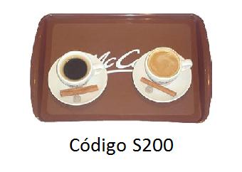Bandeja Cafeteria, S200