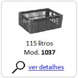 caixa plastica 1037