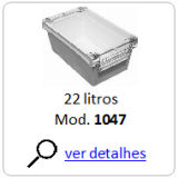 caixa plastica 1047