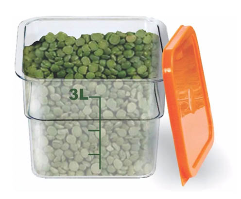 Caixa Transparente 3 Litros