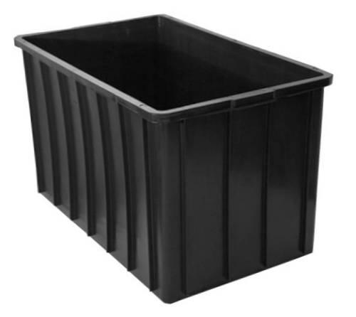 caixa 300 litros preta