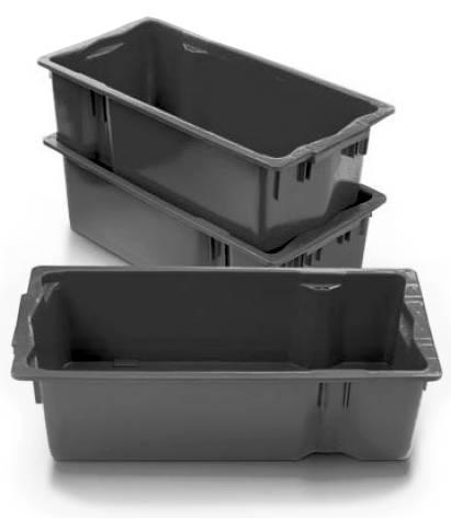 caixa plastica 19,5 litros empilhaveis
