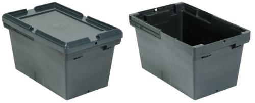 caixa plastica fechada 21 litros