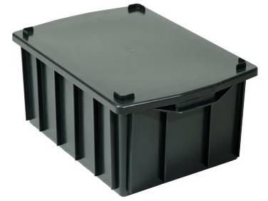 caixas plasticas 26 litros com tampa