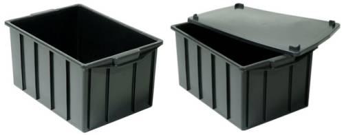caixas plasticas 60 litros tampa opcional