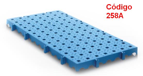 estrado plastico 25 x 50 cm furo menor