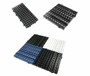 Estrado plastico modular