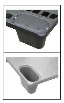 Detalhe Pallet Plástico 285F