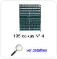 estante metalica porta componentes para 195 caixas plasticas bin numero 4