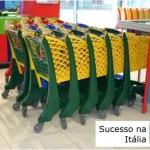 carrinhos de supermercado plastico italia