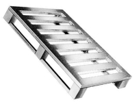 pallet de aluminio