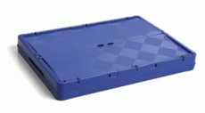 caixa dobravel fechada com tampa dobrada